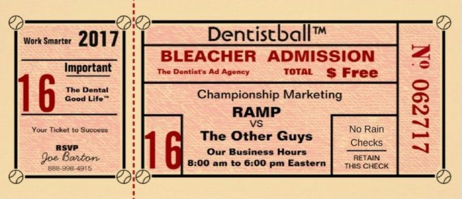 Ticket_Dentistball_Work_Smarter_with_RAMP_Dentist_Marketing