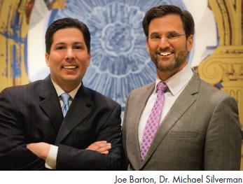 Joe Barton and Dr. Michael Silverman