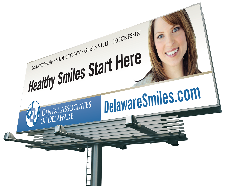Dental Associate of Delaware Billboard